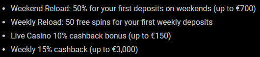 zet casino bonus and cashback